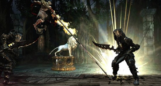 Скриншот из DLC Dark Forest для Dante's Inferno