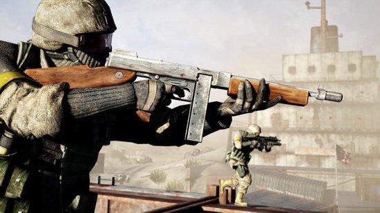 Скриншотт игры Battlefield: Bad Company 2