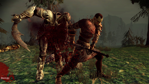 Скриншот к игре Dragon Age: Origins