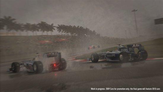 Скриншот из игры F1 2010