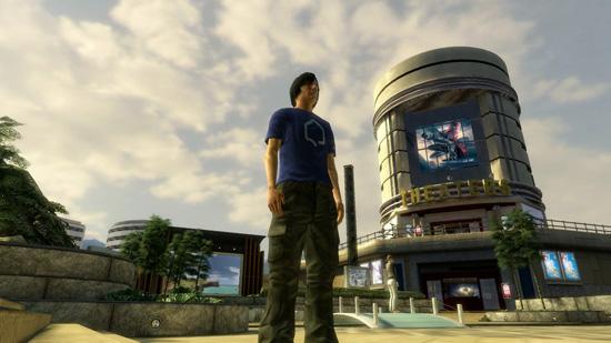 Скриншот из PlayStation Home