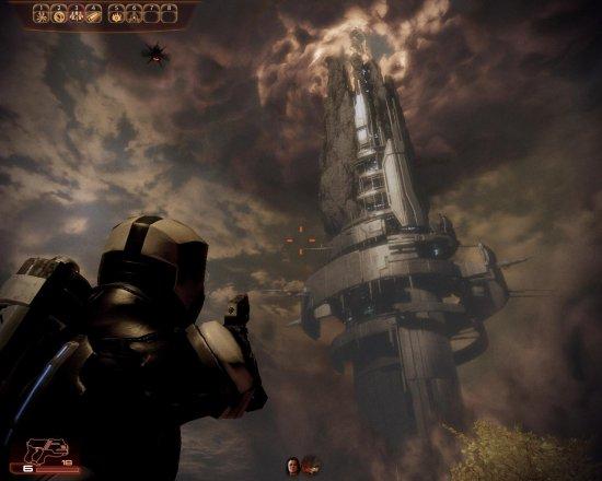 Скриншот из игры Mass Effect 2
