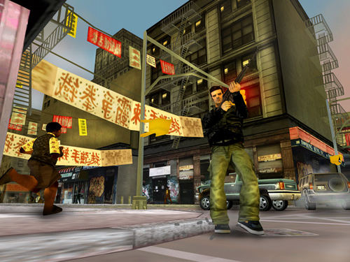 Скриншот к игре «Grand Theft Auto III»