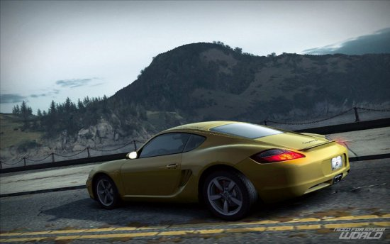 Скриншот игры Need for Speed World Online