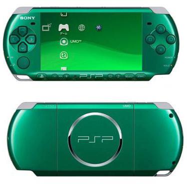 Внешний вид Spirited Green PSP-3000