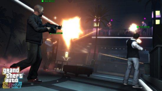 Скриншот из DLC Grand Theft Auto 4: The Ballad of Gay Tony
