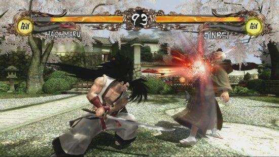 Скриншот игры Samurai Shodown: Sen
