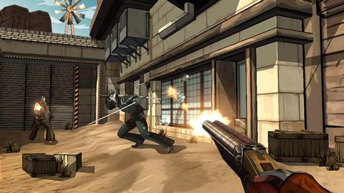 Скриншот к игре «Red Steel 2»