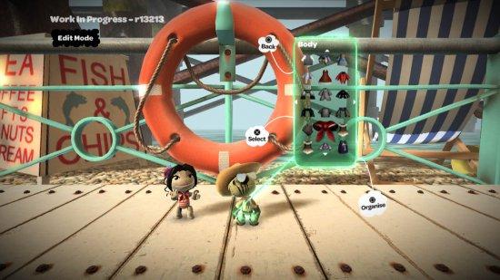 Скриншот первой части LittleBigPlanet