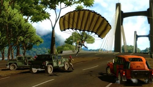 Скриншот из игры «Just Cause 2»