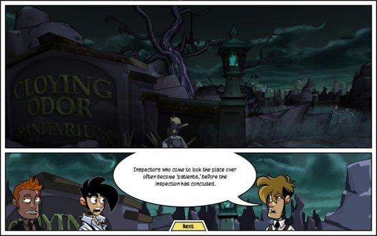 Скриншот из второго эпизода Penny Arcade Adventures