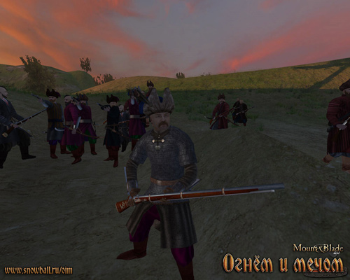 Скриншот к игре Mount & Blade. Огнем и мечом