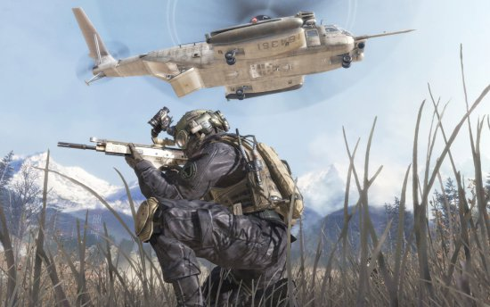 Скриншот игры Call of Duty: Modern Warfare 2