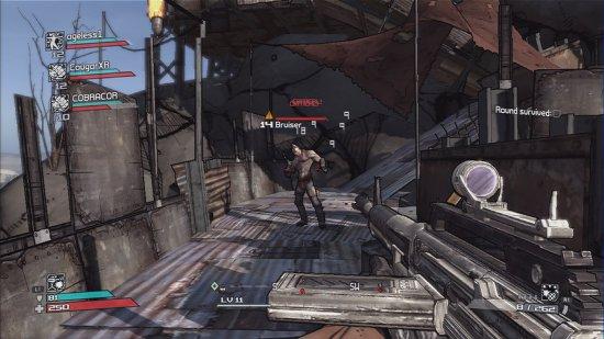 Скриншот с игры Borderlands