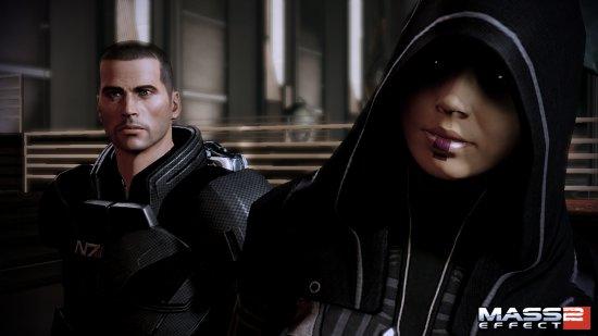 Скриншот персонажа Касуми из Mass Effect 2
