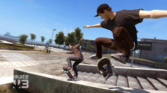Скриншот из игры Skate 3