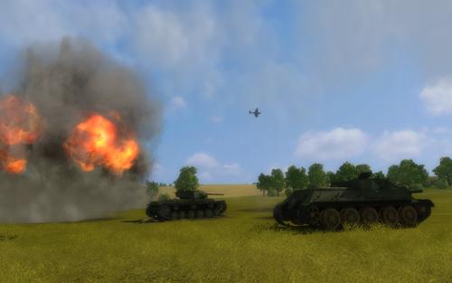Скриншот к игре «Искусство войны. Курская дуга»