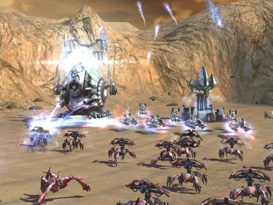 Скриншот игры Supreme Commander 2