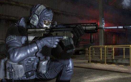 Скриншот с игры Call of Duty: Modern Warfare 2