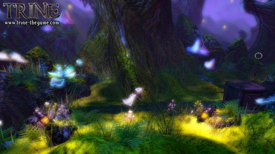 Скриншот из игры Trine