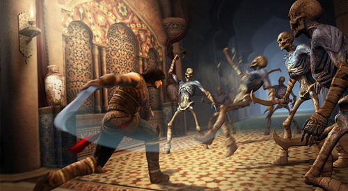 Скриншот к игре Prince of Persia: The Forgotten Sands