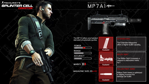MP7A1 Machine Pistol