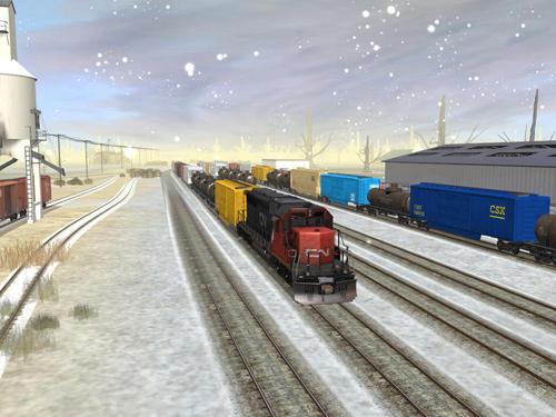 Скриншот к игре Trainz Simulator 2010: Engineers Edition