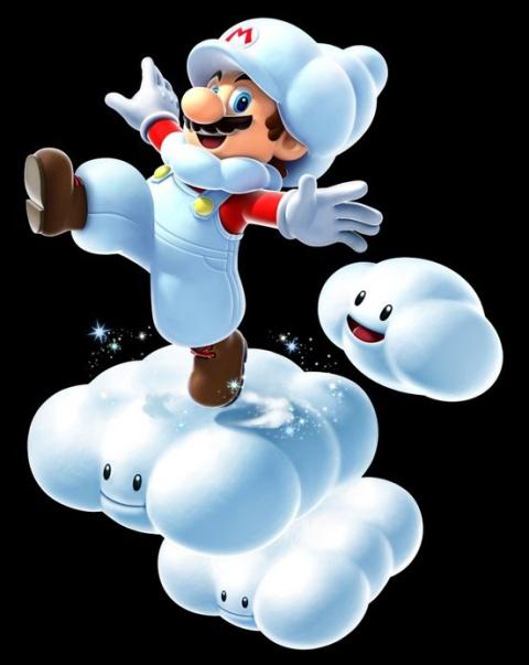 В Super Mario Galaxy 2 будет Облачный Марио