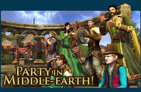 Празднование третьей годовщины Lord of the Rings Online