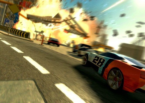 Скриншот к игре Split/Second