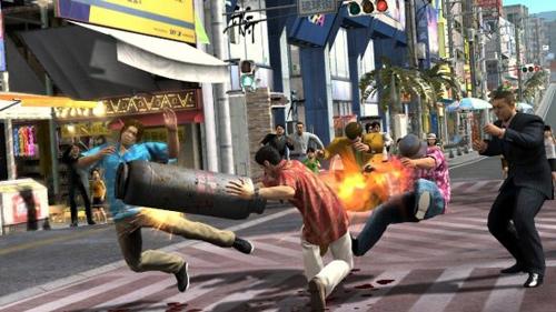 Скриншот к игре «Yakuza 3»