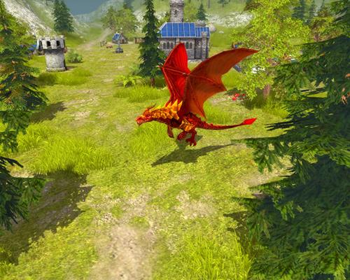 Скриншот к игре «Majesty 2: The Fantasy Kingdom Sim»