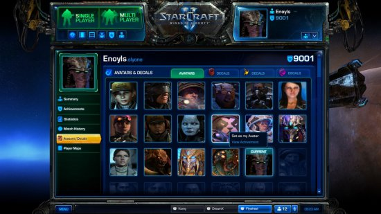 Обновление в бета тесте StarCraft II