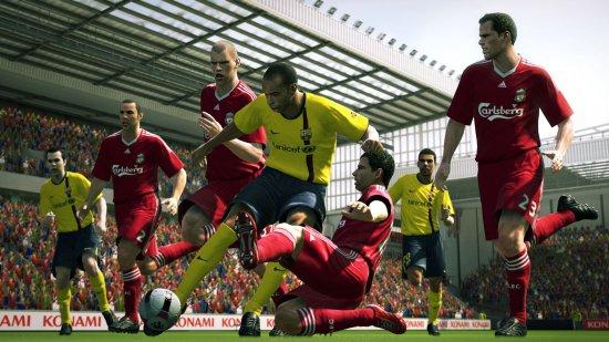 Бесплатный DLC для Pro Evolution Soccer 2010