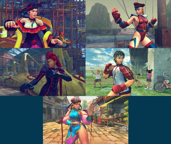 Super Street Fighter IV – новые костюмы
