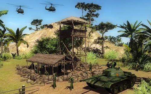 Скриншот к игре Диверсанты: Вьетнам