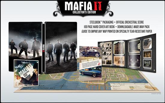 Детали коллекционного издания Mafia II