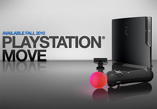 Появился сайт, посвященный Playstation Move
