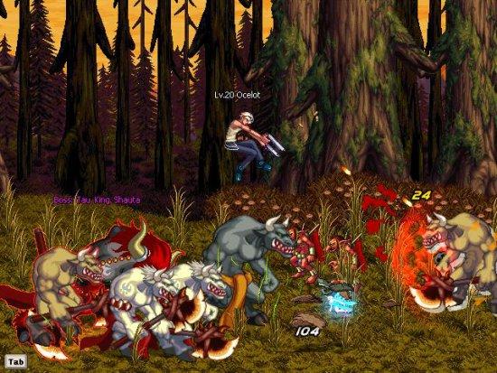 Девушка Стрелок в Dungeon Fighter Online