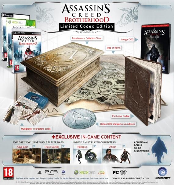 Коллекционное издание Assassin's Creed: Brotherhood