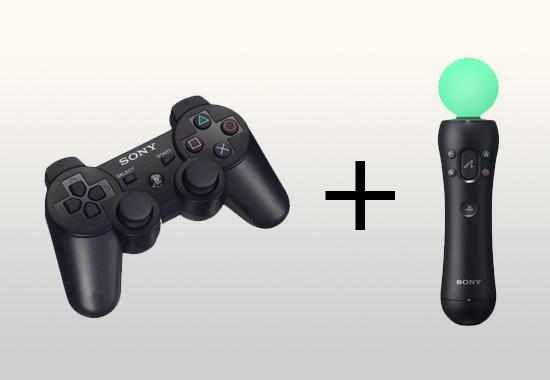 PlayStation Move совместим с SixAxis