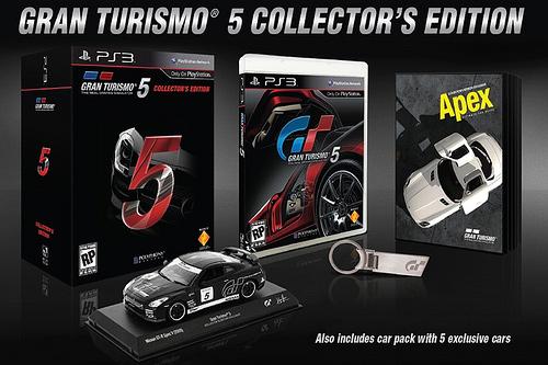 Коллекционное издание Gran Turismo 5