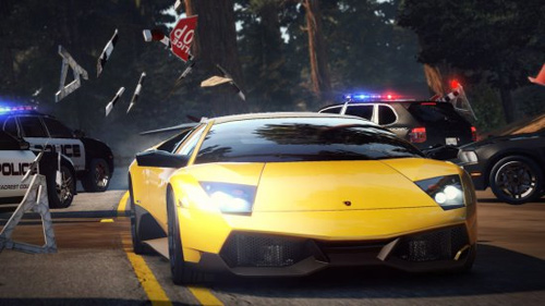 Need for Speed Hot Pursuit с поддержкой 3D