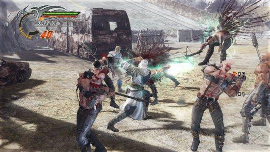 Озвучка в Fist of the North Star: Ken's Rage