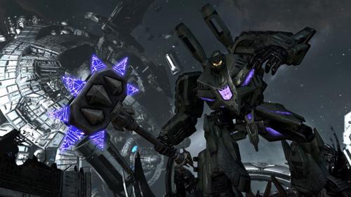 Скриншот к игре Трансформеры: Битва за Кибертрон