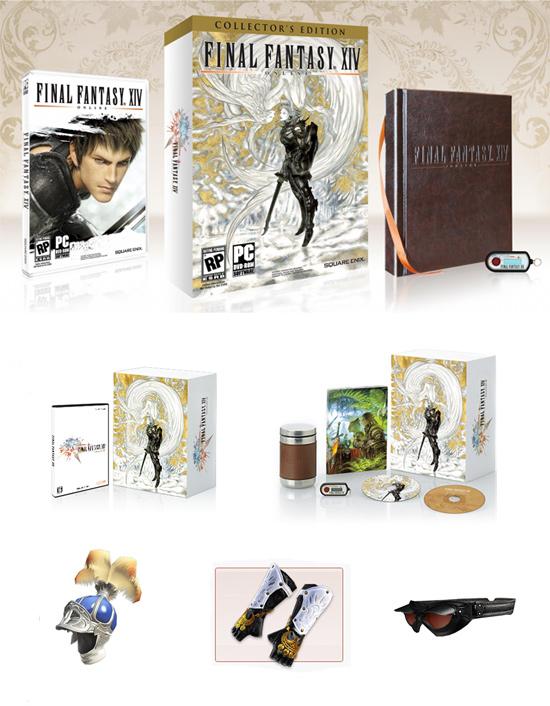 Комплект коллекционного издания Final Fantasy XIV Online