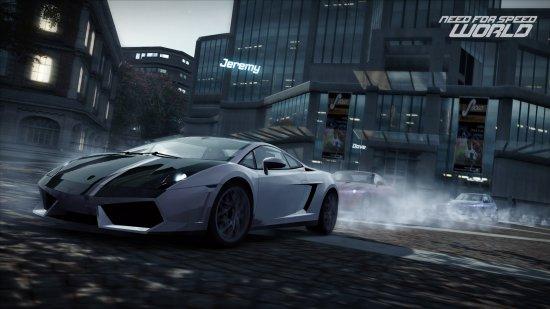 Открытый бета тест Need for Speed World