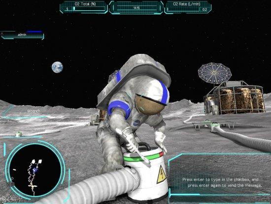 Moonbase Alpha интересная игра от NASA