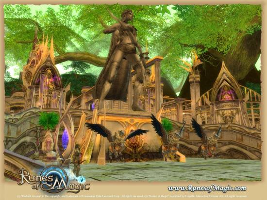Новая зона в Runes of Magic - Chapter III