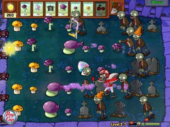 Кооперативный режим в Plants vs Zombies